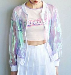 I don't have a particular style, but I love odd clothing pieces...like this funky jacket :)