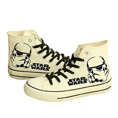 9b7232fe1c Star Wars Shoes Darth Vader Anakin Skywalker Canvas Starwars footwear  trainer boot canvas shoe Afflink