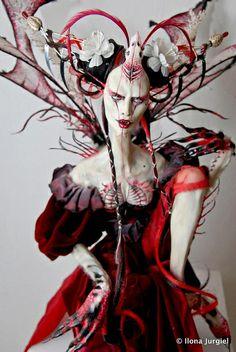 Fragility at Strychnin Gallery 2010 doll exhibit