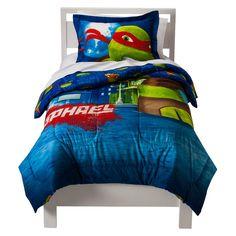 Teenage Mutant Ninja Turtles 4 Piece Bed Set - Green (Toddler) | For ...
