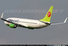 "S7 Airlines Boeing 737-800 ""OneWorld LogoJet"""