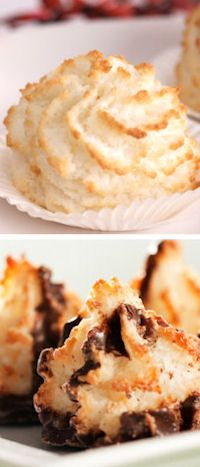 15+ Ways To Make Coconut Macaroons: {Recipes}