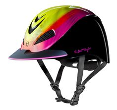 Neon Flare, Fallon Taylor by Troxel Helmet Collection