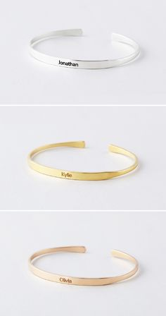 bracelet name personalized bracelet gift idea Bracelet liberty name bracelet purple
