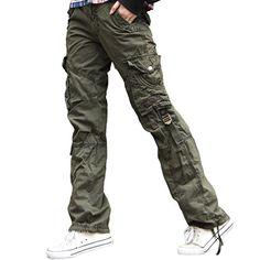 Urbanboutique Womens Combat Casual Cargo Six Pocket Cotton Army Military Trousers Pants Urbanboutique http://www.amazon.co.uk/dp/B00VK7H6EA/ref=cm_sw_r_pi_dp_MI-3wb1Q7PPE0