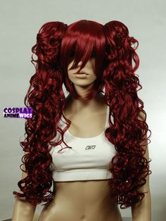 Collections of anime cosplay wig