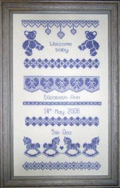 baby cross stitch patterns and kits - Cross Stitch Supplies - Shop Cross Stitch Tree, Cross Stitch Fabric, Cross Stitch Baby, Modern Cross Stitch, Cross Stitch Kits, Cross Stitch Charts, Cross Stitch Designs, Cross Stitching, Cross Stitch Embroidery