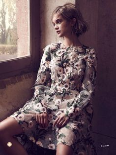 visual optimism; fashion editorials, shows, campaigns & more!: the artist's muse: rosie tupper by nicole bentley for marie claire australia may 2014