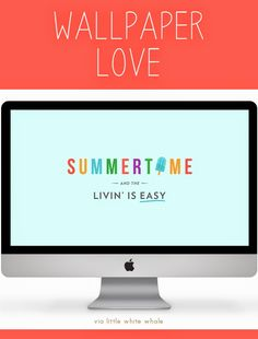 Free Wallpaper: Summertime | techlovedesign.com