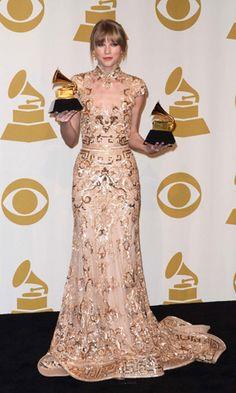 Taylor Swift in Zuhair Murad Grammy Awards 2012 #taylorswift