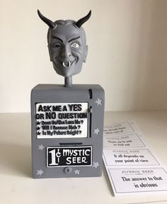 For sale from BifBangPow in 2011 is THE TWILIGHT ZONE MYSTIC SEER bobblehead replica in black & white. Comes with original box. | eBay!