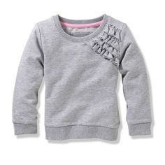 Toddler Girls' Ruffle Sweater | Joe Fresh