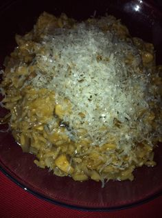 Slimming World mushroom risotto