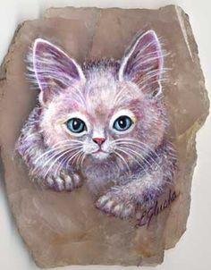 kitten.jpg 300×385 pixels..artsonstone