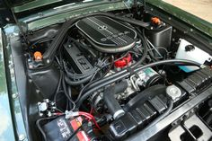 21 Best Mustang engine images | Mustang engine, Mustang, Car ... Home C Bb Ford Mustang Convertible Engine Partment Fuse Box on
