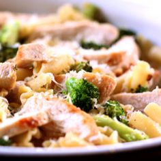 Lemony Broccoli Pasta with Chicken - I sorta halved the recipe (which was good because there's only 2 of us and the chicken breasts we have are enormous) and it was DELICIOUS. A definite make again.