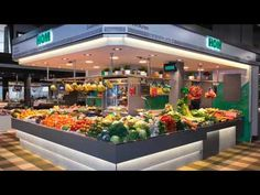 Diseño de fruterías - Interiorismo comercial - fruiteria - fruterías modernas - greengrocery - store design - food store design - mercados - fruits - food market - mercats - parada de mercado - parades de mercat - puestos de mercado