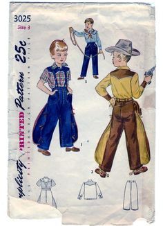 Vintage 1949 Simplicity 3025 Sewing Pattern by SewUniqueClassique, $14.00