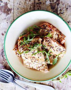 Grillattu lohi sinappimarinadilla | Kotivinkki
