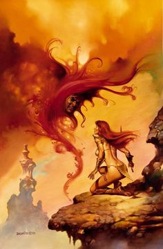 Red Sonja by Boris Vallejo
