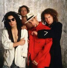 Bespectacled Birthdays: Dave Navarro, c.1991 Music Icon, My Music, Stephen Perkins, Perry Farrell, Dave Navarro, Jane's Addiction, Sexy Men, Handsome