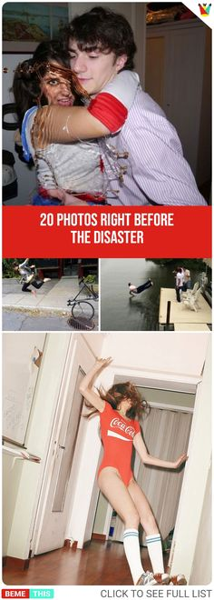 20 Photos Taken Right Before the Disaster Struck #epic #epicfail #rightbeforedisaster #momentshot #funny #funnypics #funnypictures #bemethis