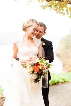 Photography: Bartek & Magda - www.bartekandmagda.com  Read More: http://www.stylemepretty.com/2014/06/02/classic-fall-canadian-wedding/