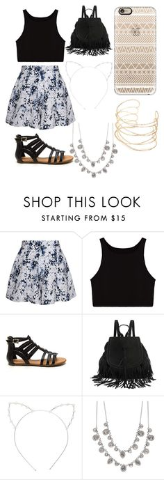 """""""Ldshadowlady at Coachella"""" by madison-nichols-1 on Polyvore featuring Olive + Oak, Cara, Givenchy and Casetify"""