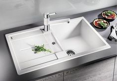 the best models and types of installation [Overview] Best Model, Modern Kitchen Design, Bath Caddy, Home Decor, White People, Kitchen Modern, Bucket Sink, Household, Line