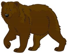 Brown Bear PNG Clipart