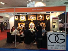 Oliver Goldsmith booth