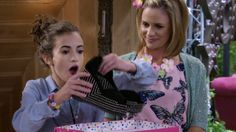 """If there's one thing Fuller House is taking plenty of liberties with during its first season on Netflix, it's pop culture name-dropping. From Coachella to """"on fleek"""" to iPads, Fuller House is practically going out of its way to remind us that even… Fuller House, Jeffrey Campbell, Coachella, Pop Culture, Going Out, Rompers, Shoe, Actors, My Love"""