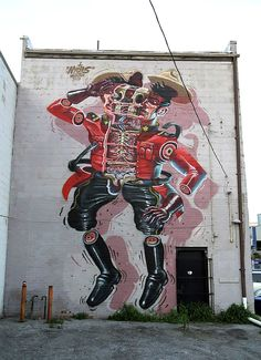 Nychos New Mural