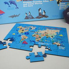 jigsaw of your map
