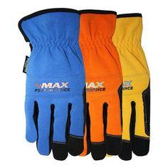 Blue Hawk Large Leather Work Gloves | *Work Safety Protective Gear U003e Safety  Gloves* | Pinterest | Leather Work Gloves, Work Gloves And Gloves