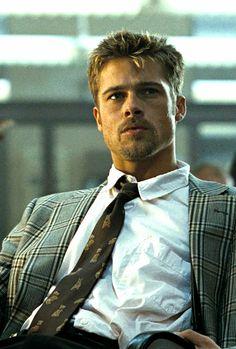 Brad Pitt in Se7en (1995)                                                                                                                                                                                 More