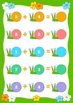 D… - Todo sobre el jardín de infantes Printable Preschool Worksheets, Kindergarten Math Worksheets, Kindergarten Lessons, Worksheets For Kids, Math Activities, Preschool Activities, Math Sheets, Grande Section, Math For Kids
