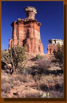 Possible road trip - Palo Duro, TX, outside of Amarillo.  Lighthouse Rock, Palo Duro Canyon, Texas