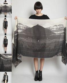mountain fabric