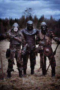 Orc warriors - Doriath wars LARP - https://www.facebook.com/doriathskevalky?ref=ts&fref=ts