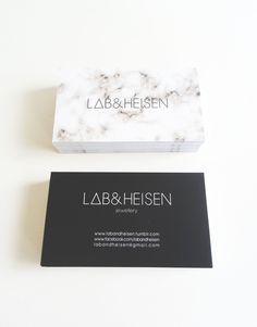 Marble card -