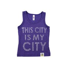 This City is My City tank from Wire and Honey. www.wireandhoney.com