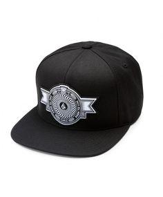 Volcom x Spitfire Snapback cap Black