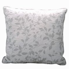 Home Soft Things Birdsong Bedspread Set, x Gray