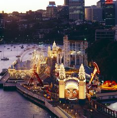 Sydney: Luna Park Sydney, Sydney, New South Wales, Australia Perth, Brisbane, Luna Park Sydney, Parks In Sydney, Sydney City, Oh The Places You'll Go, Places To Travel, Travel Destinations, Great Barrier Reef