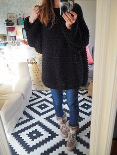 pour mes jolis mômes, mais pas que...: Snow boots et pull doudou
