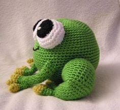 Pdf Crochet Pattern AMIGURUMI PUDGY FROG by bvoe668 on Etsy