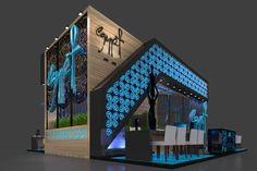 Kim Abner on Behance Trade Show Booth Design, Stand Design, Display Design, Kiosk Design, Facade Design, Exterior Design, Exhibition Stall Design, Exhibition Stands, Exhibit Design