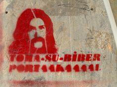 TOMA Su Biber Portakal...! / Cihangir #istanbulsokak #duvarlaraozgurluk #istanbulstreetart #sokaksanatı #streetart #graffiti #stencil #wallart #mural #sticker #streetwriting #urban #urbanart #istanbul #beyoglu #kadikoy #besiktas #turkiye #art #barismanco #toma #teargas #direngezi #direngeziparki #resist #occupygezi