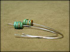Turquoise Earrings  Southwest Earrings  by StoneWearDesigns on Etsy
